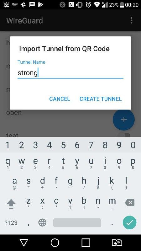 安卓strongvpn-wireuard