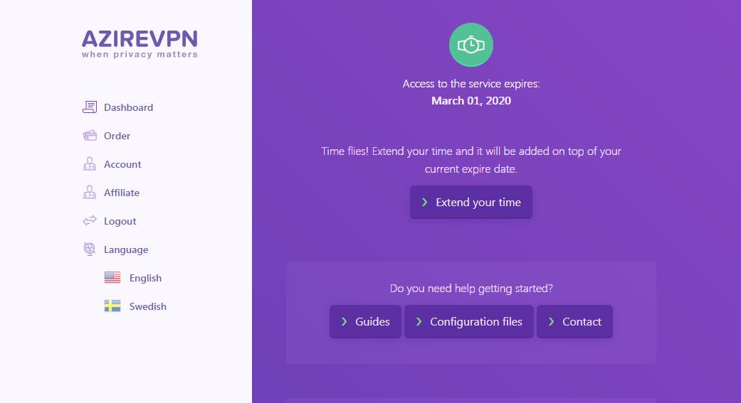 配置VPN