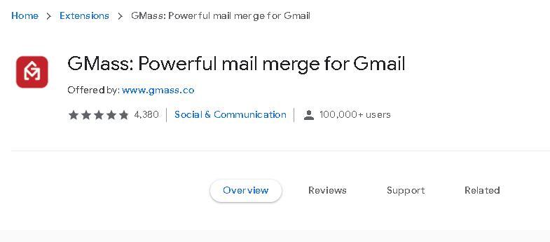 Gmass谷歌插件