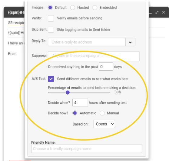 Gmail邮件群发工具gmass新增A/B测试功能