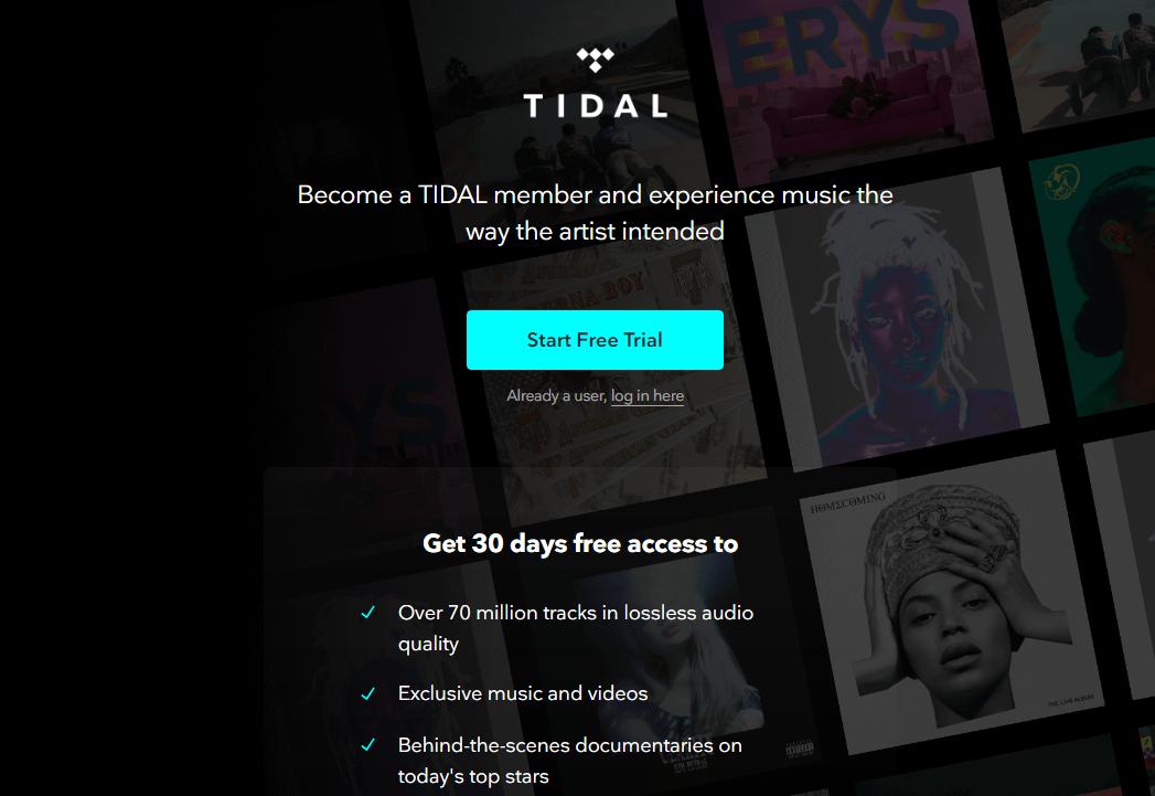 简单测评:国内使用音乐流媒体HIFI级平台Tidal体验,支持免费试用30天