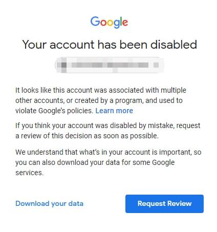 Gmail被封了,还绑定了google voice,然后捆绑了一些其他账号怎么办?
